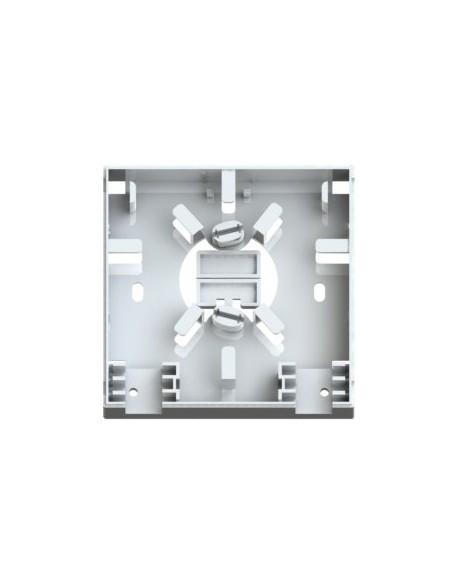 Caja de FO. para 2 adaptadores SC Simplex 4