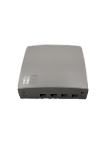 Caja de F.O. para 4 adaptadores SC Simplex  LC Duplex 1