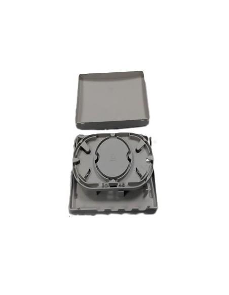 Caja de F.O. para 4 adaptadores SC Simplex  LC Duplex 2