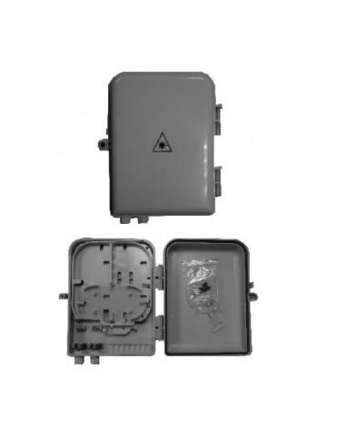 Caja F.O. de Exterior IP-65 para 16 adaptadores SC Simplex 1