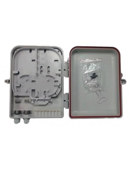 Caja F.O. de Exterior IP-65 para 16 adaptadores SC Simplex 2