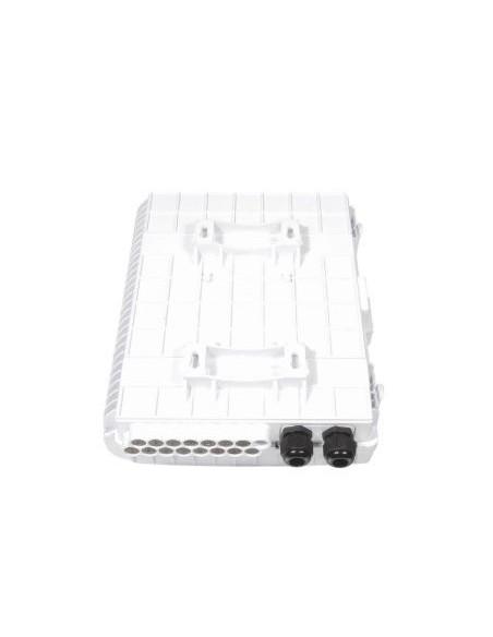 Caja F.O. de Exterior IP-65 CON LLAVE para 16 adaptadores SC Simplex  LC Duplex 2