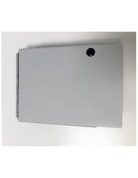 Caja mural metálica de fibra óptica para 16 ST Simplex 2