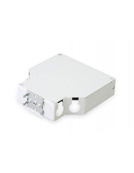 Caja metálica para carril Din para 6 tomas SC DUPLEX 2