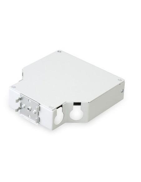 Caja metálica para carril Din para 8 tomas SC SIMPLEX - LC DUPLEX 2
