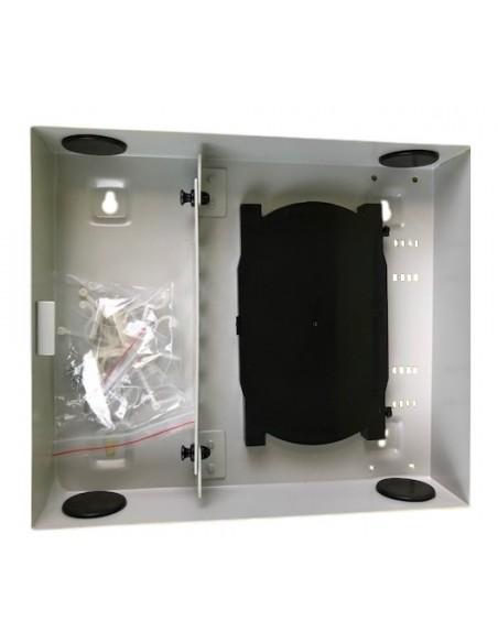 Caja F.O. de distribución y empalme para 12 SC Simplex - LC Duplex 3