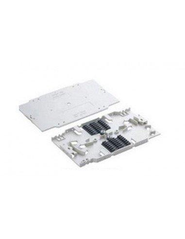 Cassete de fusión para 24 Fibra Ópticas rectangular con peine