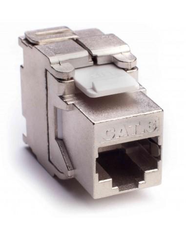 Conector 8V. RJ45 FTP HEMBRA CAT 6.