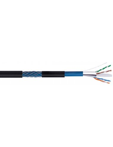 Cable datos FTP CAT 6 Armado CPR Euroclase Fca