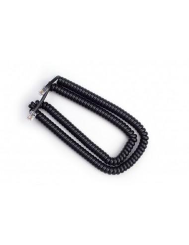 Cable Rizado Negro