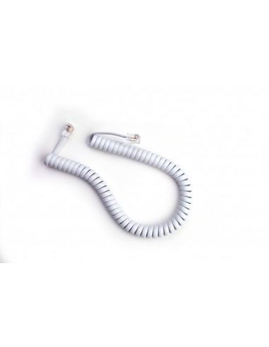 Cable Rizado Blanco