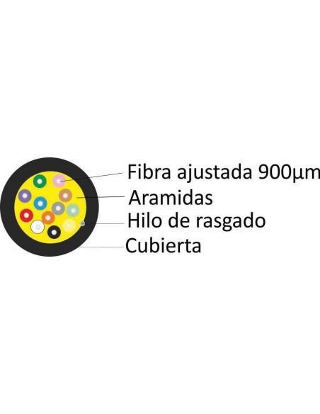 seccion cable-fibra-mm-om3-300