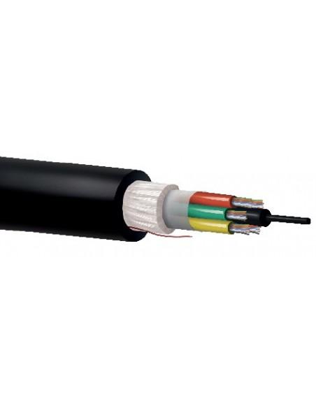 Cables FO troncal y distribución multitubo SM G652D cubierta PE