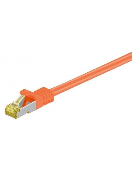 Latiguillos SFTP con cable CAT7 LSZH NARANJA