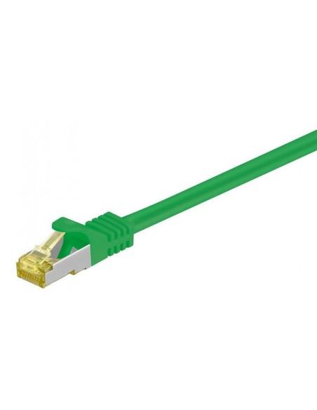 Latiguillos SFTP con cable CAT7 LSZH VERDE