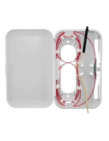 Caja F.O. para 1 adaptador SC Simplex-LC Duplex FTTH (1)