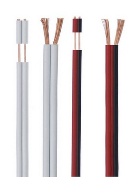 Cables paralelos para audio (PVC y LH)