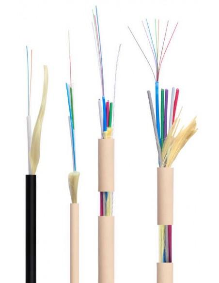 Fibra óptica acometidas vivienda ICT2. FTTH. Monomodo.