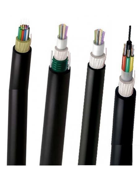 Cables de fibra Óptica Multimodo (MM)