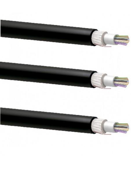 Cables de fibra óptica multimodo holgada dieléctrica