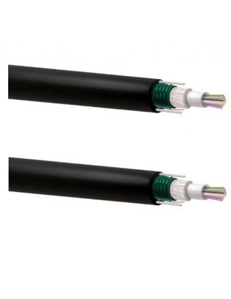 Cables de fibra óptica multimodo holgada armadura metálica