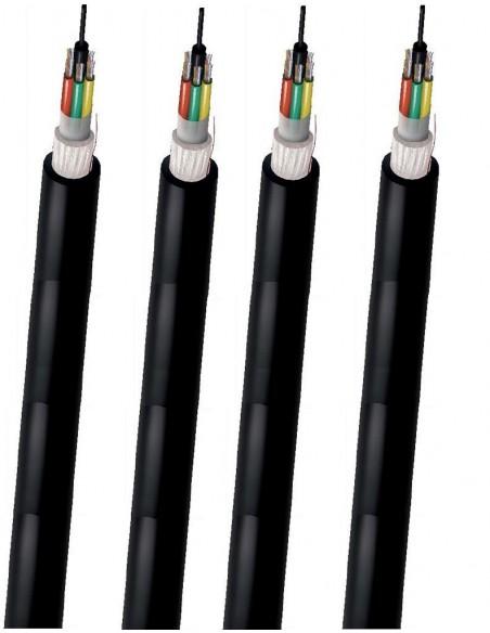Fibra Óptica Multimodo OM3-150 Holgadas multitubo LSZH-Interior/exterior