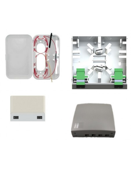 Caja conexión fibra SC/LC