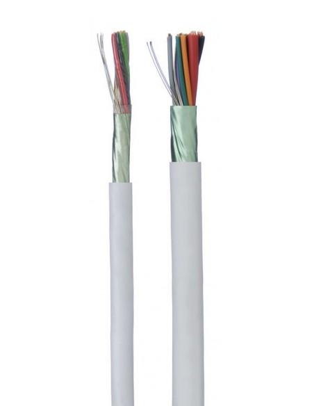 Cables de alarma apantallados con alimentacion (LH)